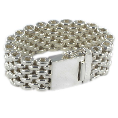 Bracelet Chainrows Round Fat