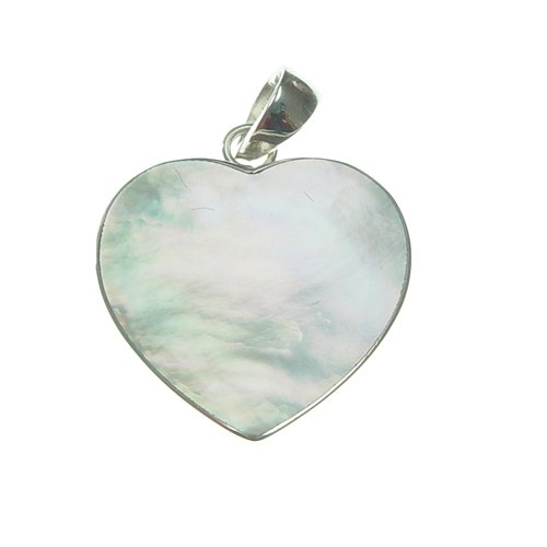 Pendant Shell Heart 25 mm