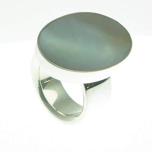 Ring Oval Shell Big